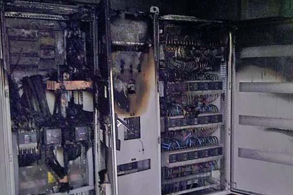 Reparación electricidad por fuego barcelona