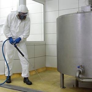 Desinfección industrial barcelona