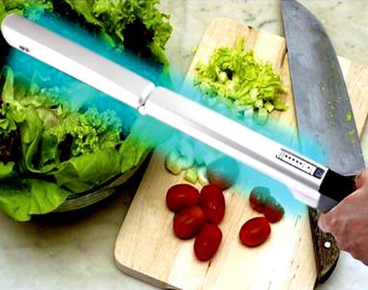 Desinfección de alimentos frescos con UV