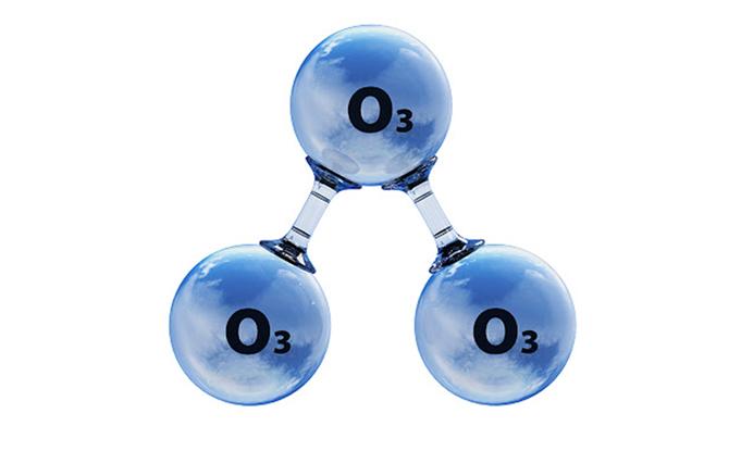 Limpieza con ozono para eliminar virus